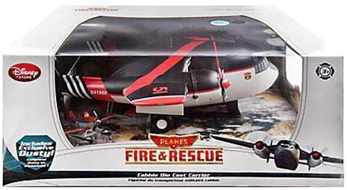 Disney Planes Fire & Rescue Cabbie Die Cast Carrier Exclusive [Includes Dusty]