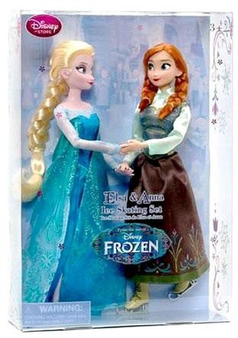 Disney Frozen Elsa & Anna Ice Skating Set Exclusive 11-Inch