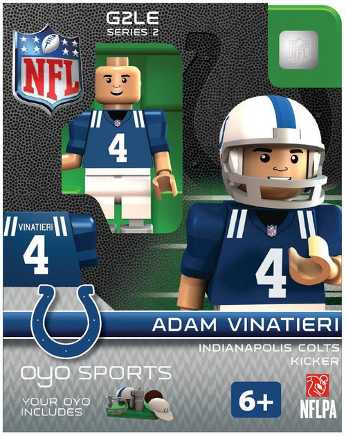 Indianapolis Colts NFL Generation 2 Series 2 Adam Vinatieri Minifigure