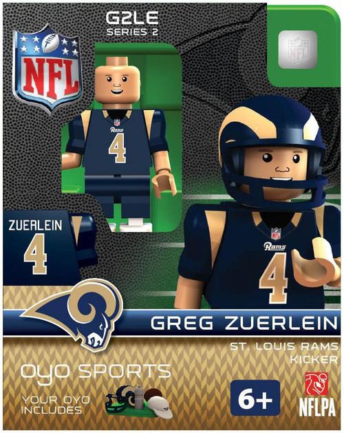 St. Louis Rams NFL Generation 2 Series 2 Greg Zuerlein Minifigure