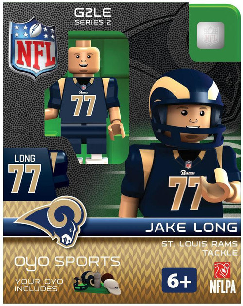 St. Louis Rams NFL Generation 2 Series 2 Jake Long Minifigure
