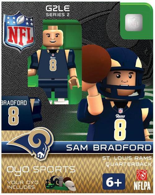 St. Louis Rams NFL Generation 2 Series 2 Sam Bradford Minifigure
