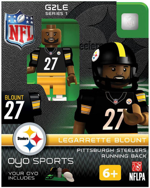 Pittsburgh Steelers NFL Generation 2 Series 1 Legarrette Blount Minifigure