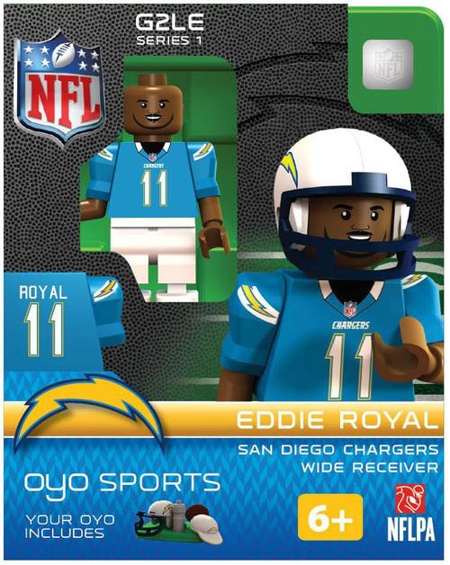 San Diego Chargers NFL Generation 2 Series 1 Eddie Royal Minifigure