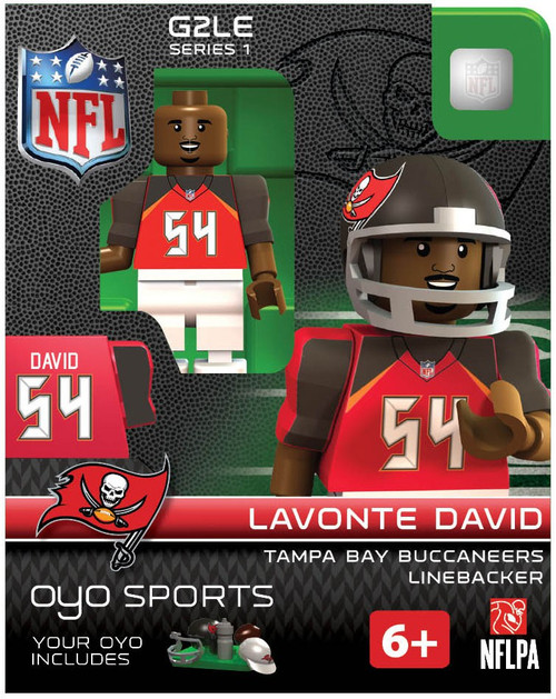 Tampa Bay Buccaneers NFL Generation 2 Series 1 Lavonte David Minifigure