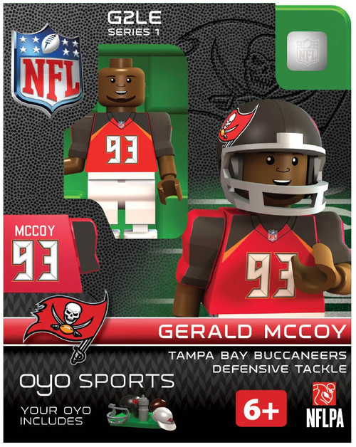 Tampa Bay Buccaneers NFL Generation 2 Series 1 Gerald Mccoy Minifigure