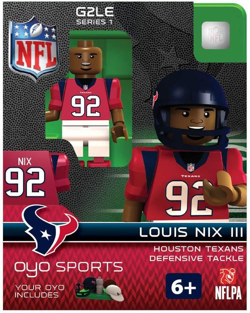 Houston Texans NFL Generation 2 Series 1 Louis Nix III Minifigure