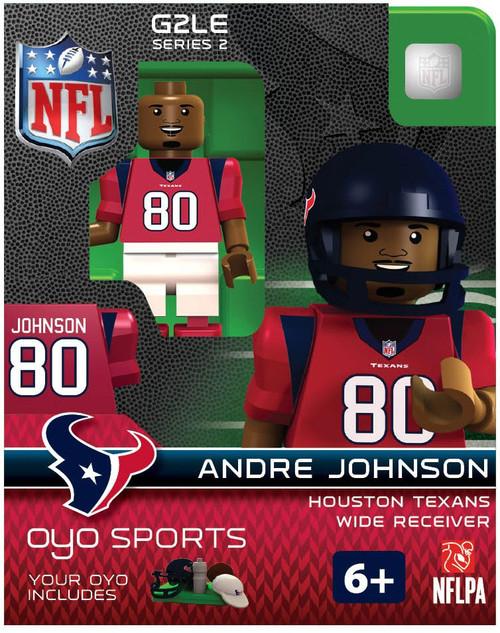 Houston Texans NFL Generation 2 Series 2 Andre Johnson Minifigure