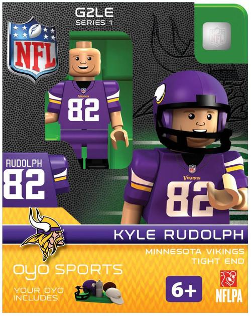 Minnesota Vikings NFL Generation 2 Series 1 Kyle Rudolph Minifigure