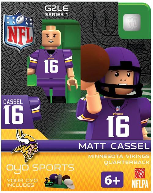 Minnesota Vikings NFL Generation 2 Series 1 Matt Cassel Minifigure