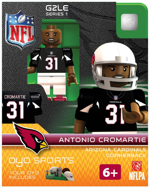 Arizona Cardinals NFL Generation 2 Series 1 Antonio Cromartie Minifigure
