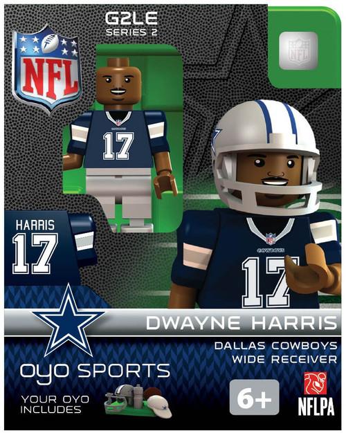 Dallas Cowboys NFL Generation 2 Series 2 Dwayne Harris Minifigure