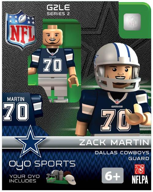 Dallas Cowboys NFL Generation 2 Series 2 Zack Martin Minifigure
