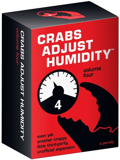 Crabs Adjust Humidity Card Game Expansion [Volume 4]