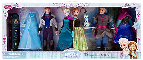 Disney Frozen Deluxe Doll Gift Set Exclusive 12-Inch