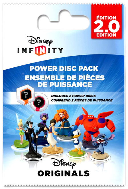 Disney Infinity 2.0 Edition Marvel Super Heroes Power Disc Pack [Originals]