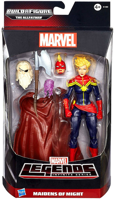 Avengers Marvel Legends Allfather Series Captain Marvel (Carol Danvers) Action Figure [Maidens of Might]