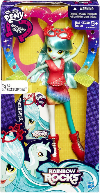 My Little Pony Equestria Girls Rainbow Rocks Lyra Heartstrings 9-Inch Doll
