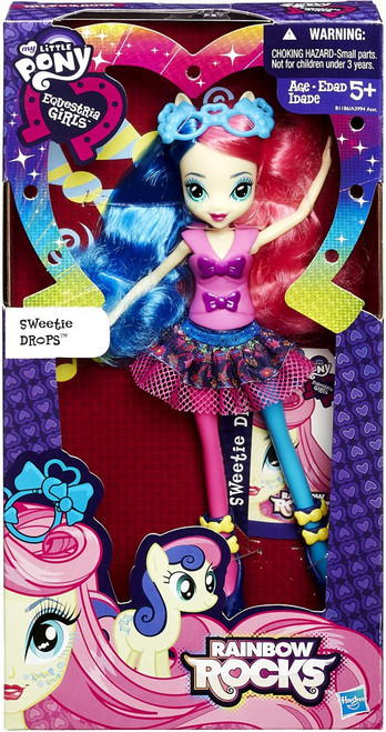 My Little Pony Equestria Girls Rainbow Rocks Sweetie Drops 9-Inch Doll [Bon Bon]