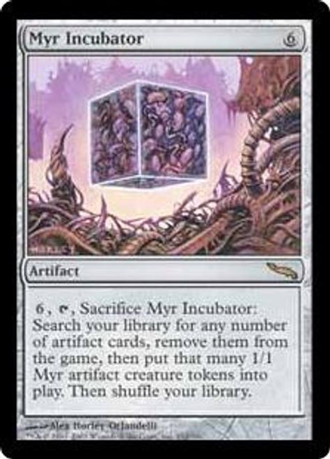 MtG Mirrodin Rare Foil Myr Incubator #212