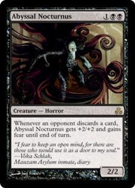 MtG Guildpact Rare Foil Abyssal Nocturnus #43