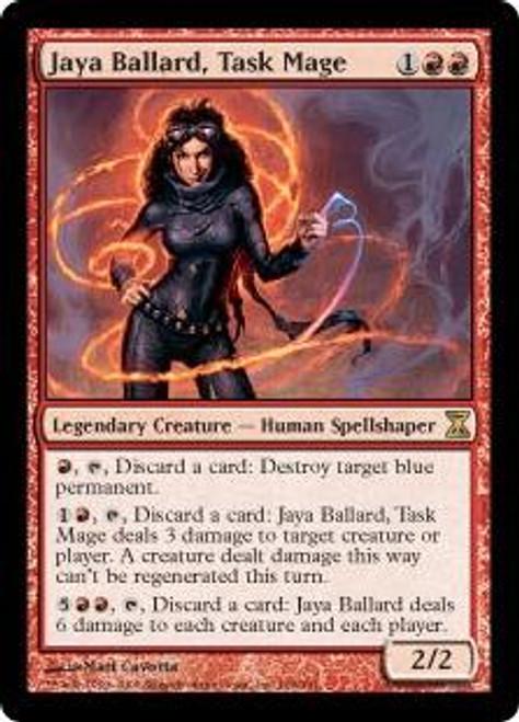 MtG Time Spiral Rare Foil Jaya Ballard, Task Mage #166