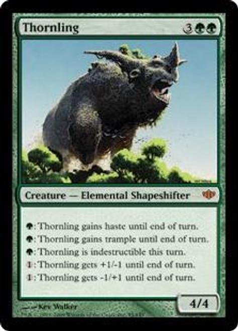 MtG Conflux Mythic Rare Foil Thornling #95