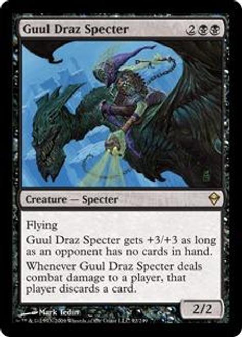 MtG Zendikar Rare Foil Guul Draz Specter #92