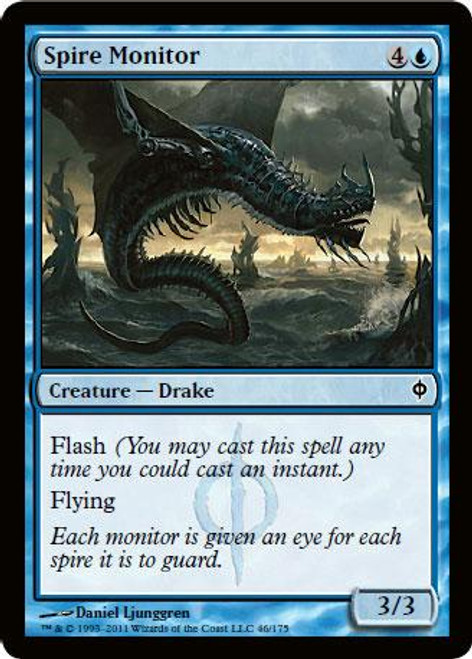 MtG New Phyrexia Common Foil Spire Monitor #46