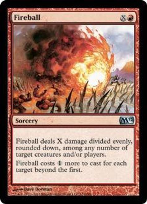 MtG 2012 Core Set Uncommon Foil Fireball #131