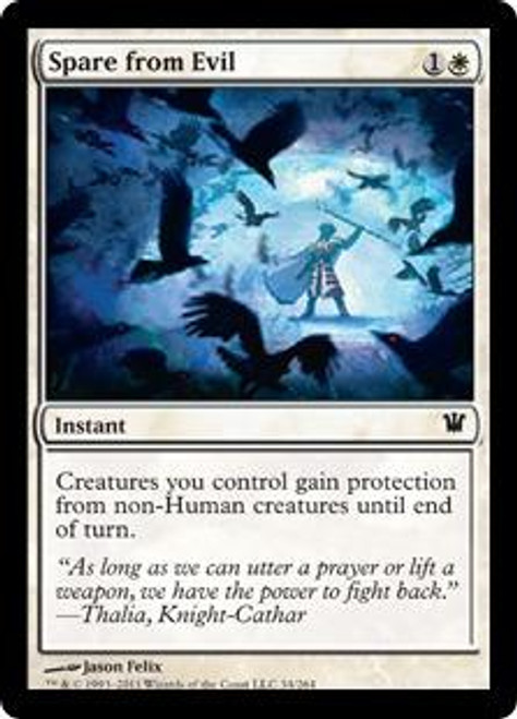 MtG Innistrad Common Foil Spare from Evil #34