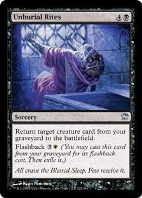 MtG Innistrad Uncommon Foil Unburial Rites #122