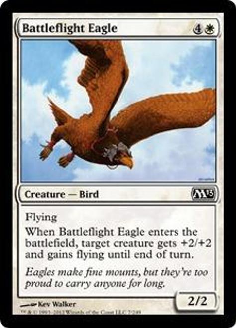 MtG 2013 Core Set Common Foil Battleflight Eagle #7
