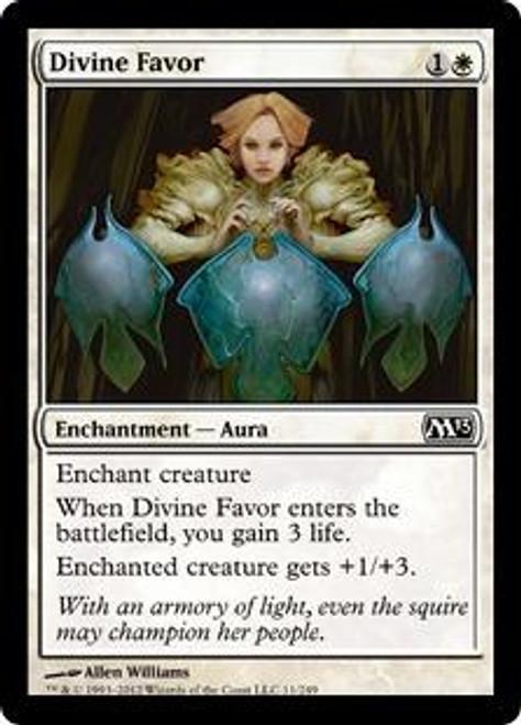 MtG 2013 Core Set Common Foil Divine Favor #11
