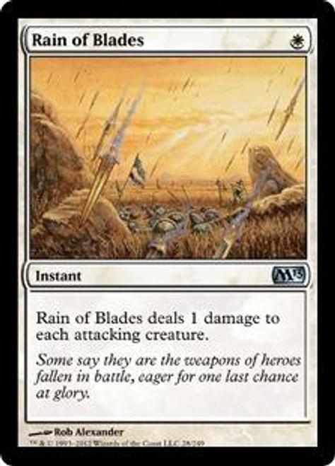 MtG 2013 Core Set Uncommon Foil Rain of Blades #28