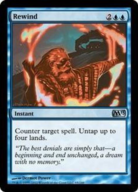 MtG 2013 Core Set Uncommon Foil Rewind #65
