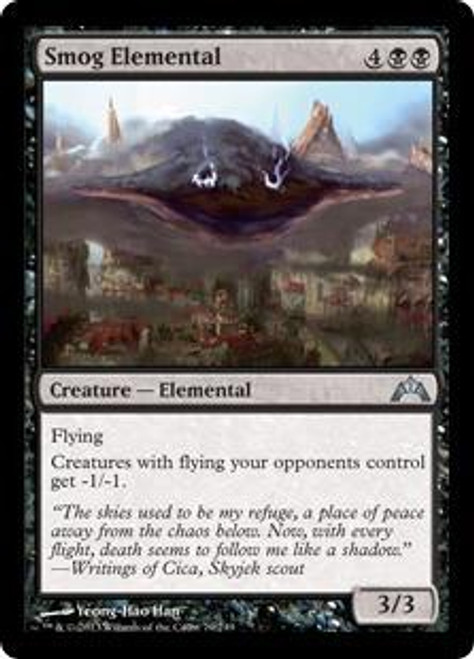 MtG Gatecrash Uncommon Foil Smog Elemental #79