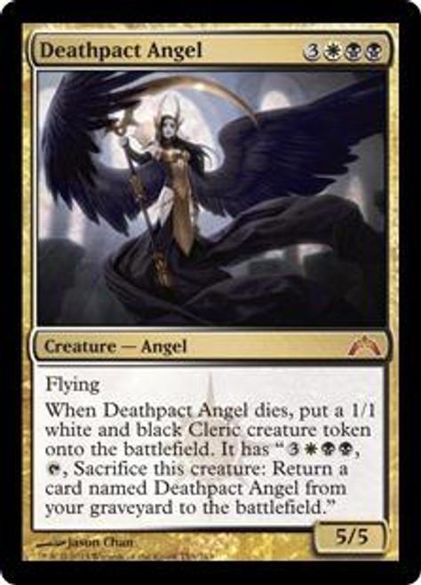 MtG Gatecrash Mythic Rare Foil Deathpact Angel #153