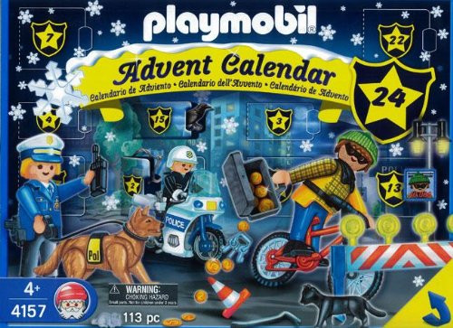 Playmobil Police Set #4157 [Damaged Package]