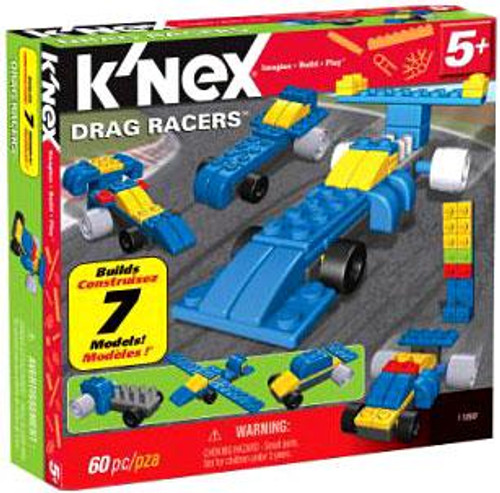 K'Nex Multi-Model Drag Racers Set #11868 [Damaged Package]