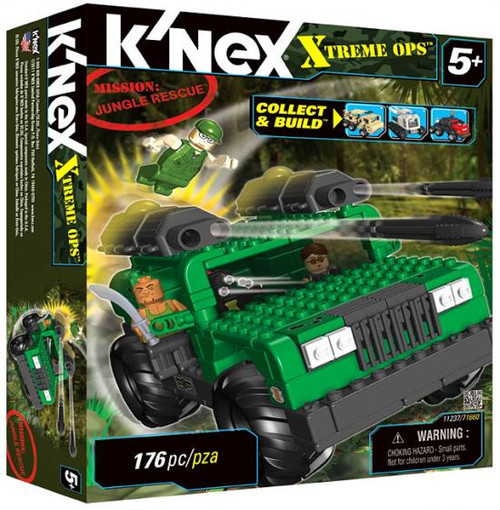 K'Nex Xtreme Ops Mission: Jungle Rescue Set #11237 [Damaged Package]