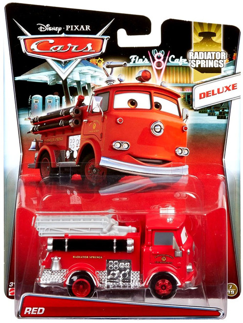 Disney / Pixar Cars Cars 2 Deluxe Oversized Red Diecast Car #7/19 [Radiator Springs]