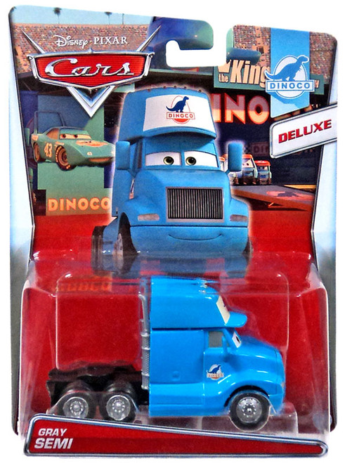 Disney / Pixar Cars Cars Deluxe Oversized Gray Semi Diecast Car #2/8 [Dinoco]