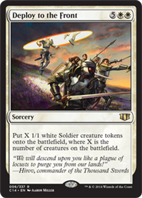 MtG 2014 Commander Rare Deploy to the Front #6