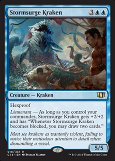 MtG 2014 Commander Rare Stormsurge Kraken #18