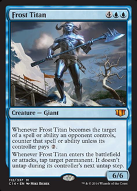 MtG 2014 Commander Mythic Rare Frost Titan #112