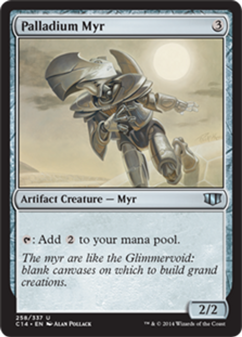 MtG 2014 Commander Uncommon Palladium Myr #258