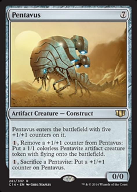 MtG 2014 Commander Rare Pentavus #261