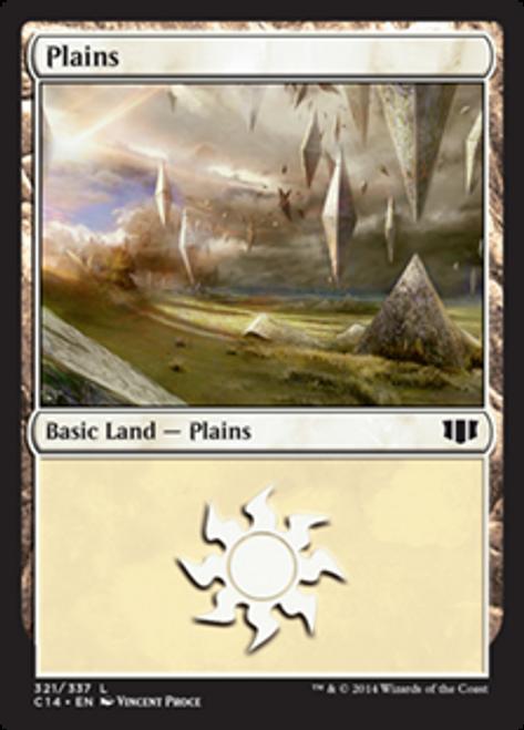 MtG 2014 Commander Land Plains #318