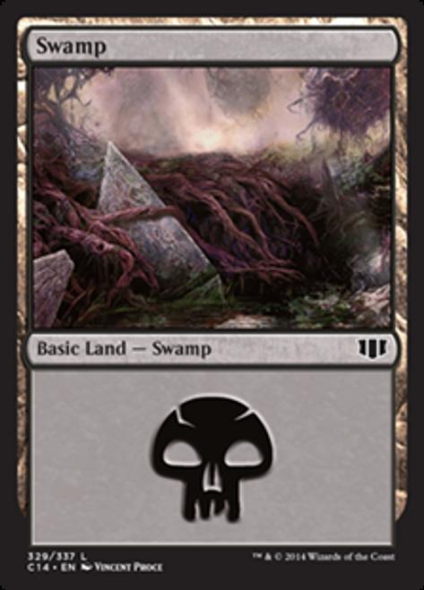 MtG 2014 Commander Land Swamp #326